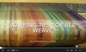 Warping Tips for Rep Weave