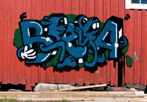 Graffiti ryijy