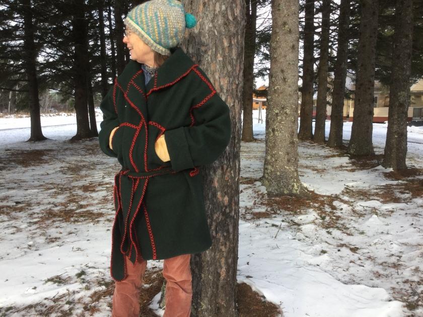 Blanket Coat Carol