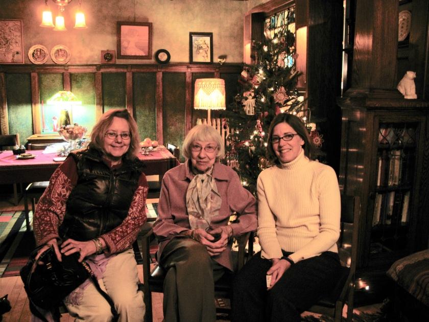 Sharon Marquardt, Lila Nelson, and Robbie LaFleur